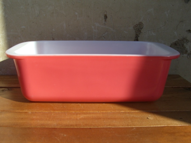 Antique PYREX グラタン皿 Color Pink_c0210815_14173082.jpg