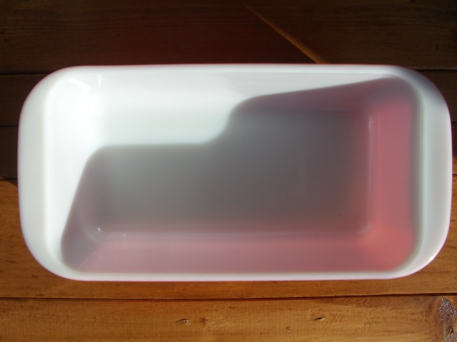 Antique PYREX グラタン皿 Color Pink_c0210815_1419137.jpg