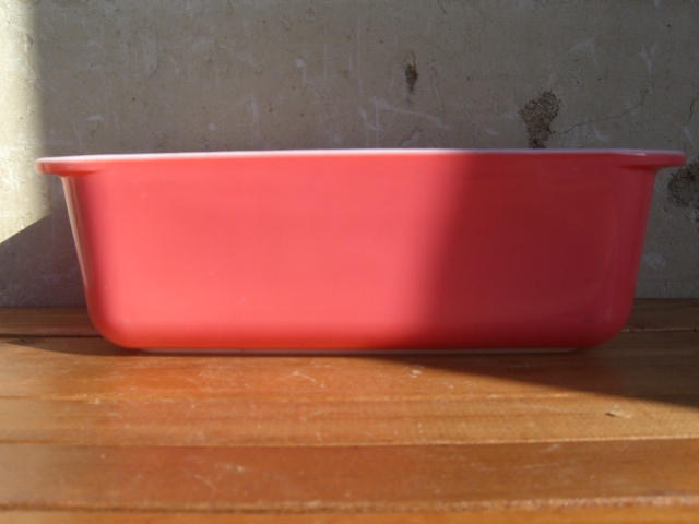 Antique PYREX グラタン皿 Color Pink_c0210815_14211891.jpg