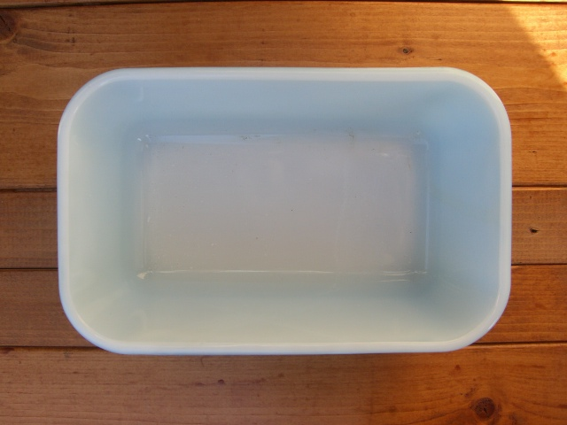 Antique PYREX グラタン皿 Color Blue_c0210815_143667.jpg