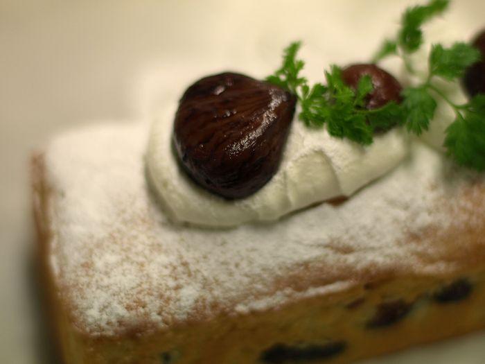 11月のケーキ 栗のテリーヌ_e0053660_16582714.jpg