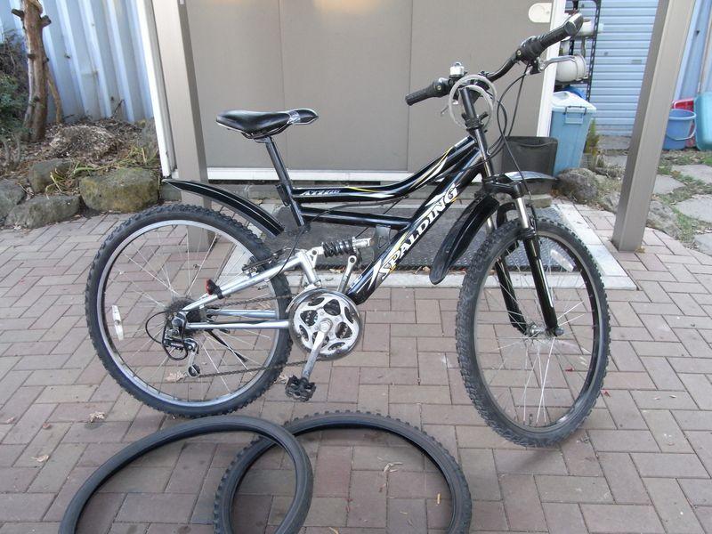自転車も冬タイヤに_c0025115_22552687.jpg