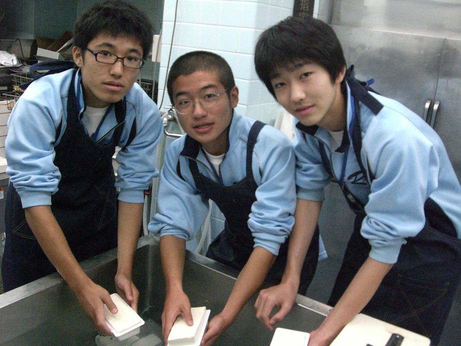 職業体験2009_e0160626_21451815.jpg