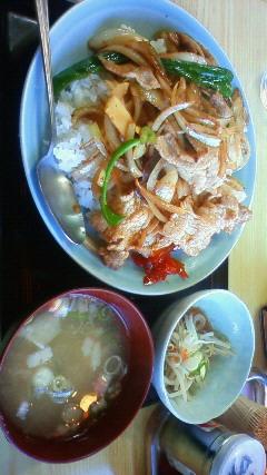肉ライス大盛700円_c0227978_2073046.jpg