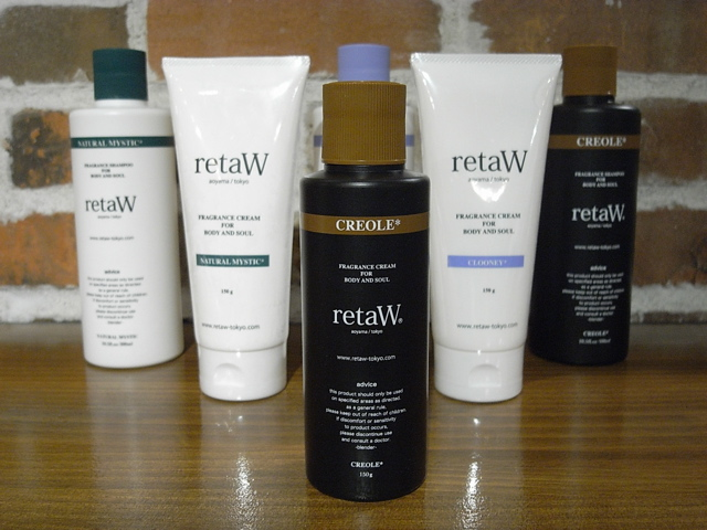 retaW FRAGRANCE BODY CREAM CREOLE* !_c0079892_20461241.jpg