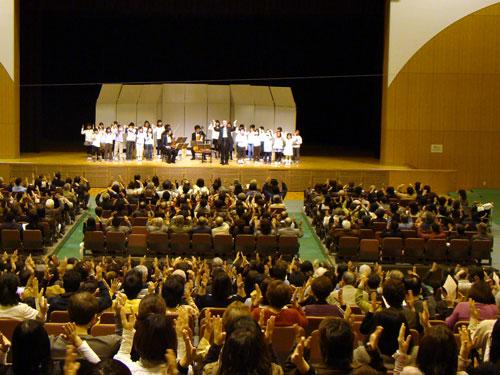 マイハート1ノート1コインコンサート 府中町_a0047200_20583322.jpg