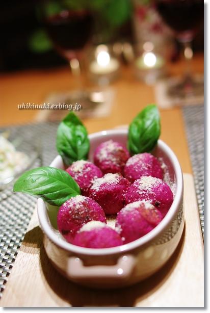 紫芋のチーズボール_f0179404_2034528.jpg