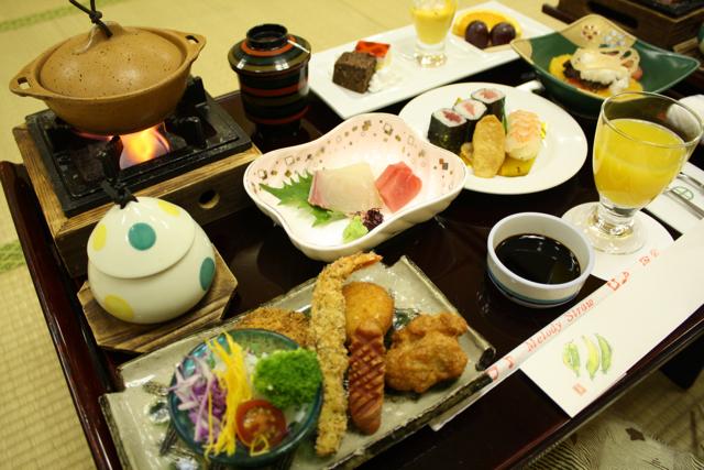 嬉野温泉に3家族でお泊まりです。_c0175022_2342396.jpg