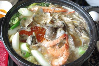 スンドゥブ鍋が美味しすぎっ!_e0190082_18344483.jpg