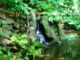 内庭・寝覚の滝 (小石川後楽園 ⑧ 江戸の庭園)_c0187004_2144763.jpg