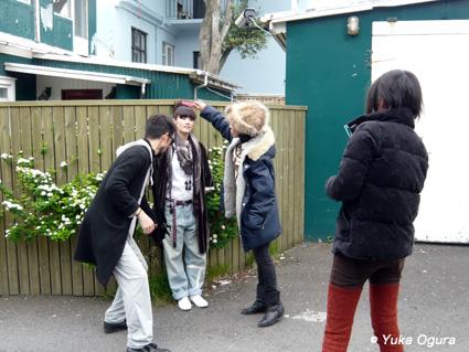 原田知世アイスランド・レコーディング、その9(最終回): ラストスパートでPV撮影!_c0003620_1755296.jpg