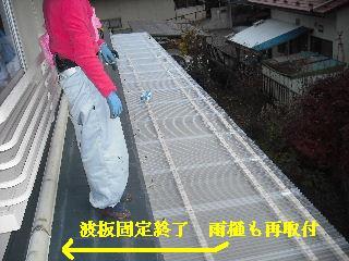 30年前のサンルーム屋根の修理_f0031037_20113035.jpg