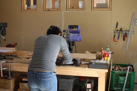 木工教室 犬のごはん台 その1_d0075863_2155584.jpg