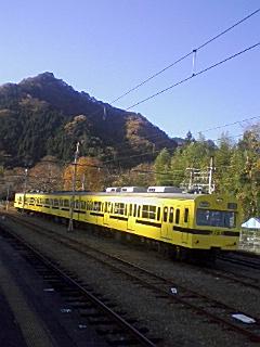 乗りたかった秩父鉄道の1007Fカステラ電車_e0013178_9195491.jpg
