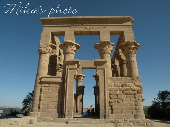 エジプト5日目 フィラエ神殿③ : ...