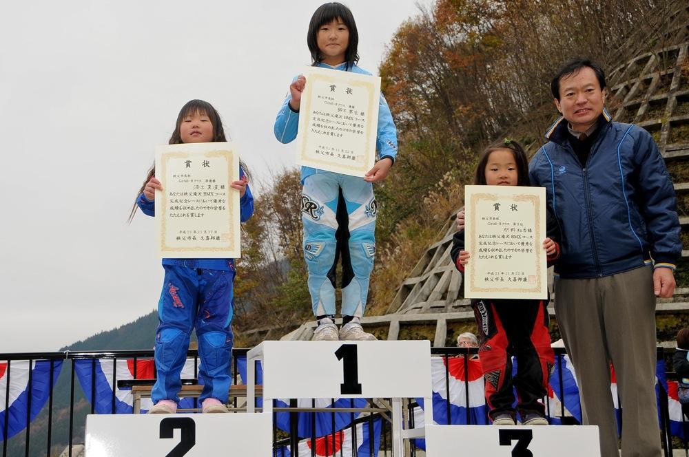 2009JBMXFスーパーシリーズ最終戦/秩父市長杯VOL6:ガールズクラス決勝_b0065730_16595493.jpg