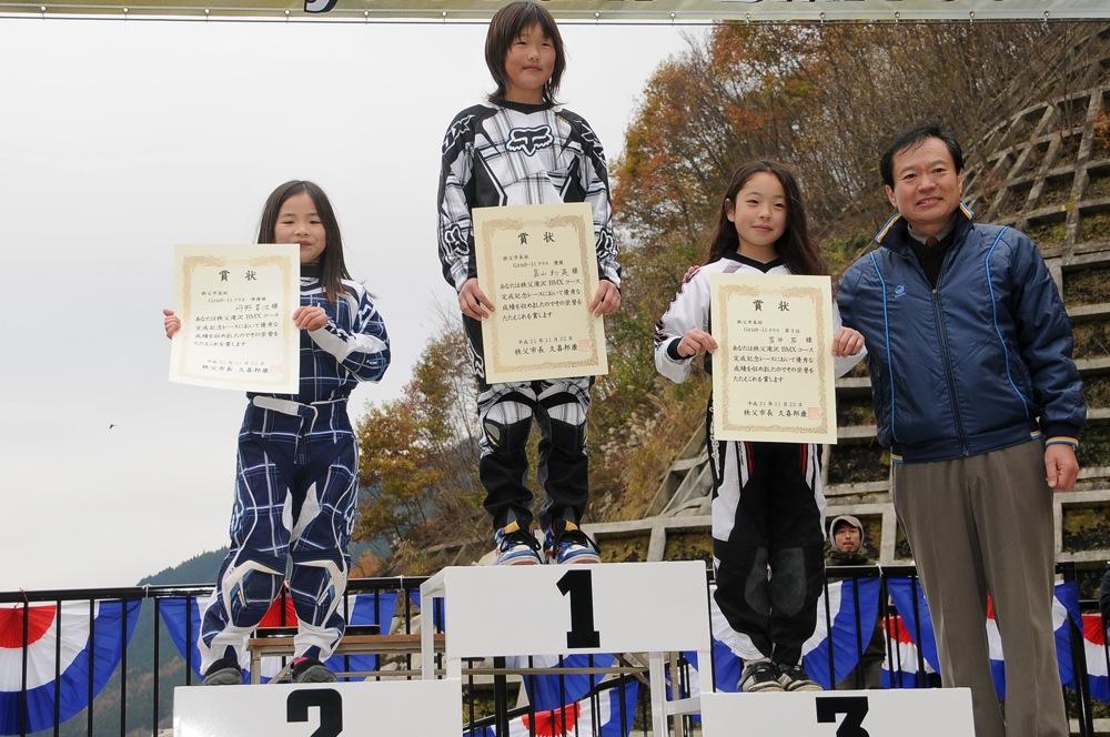 2009JBMXFスーパーシリーズ最終戦/秩父市長杯VOL6:ガールズクラス決勝_b0065730_1752360.jpg