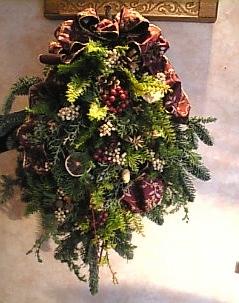 クリスマス スワッグ_f0140145_18311292.jpg