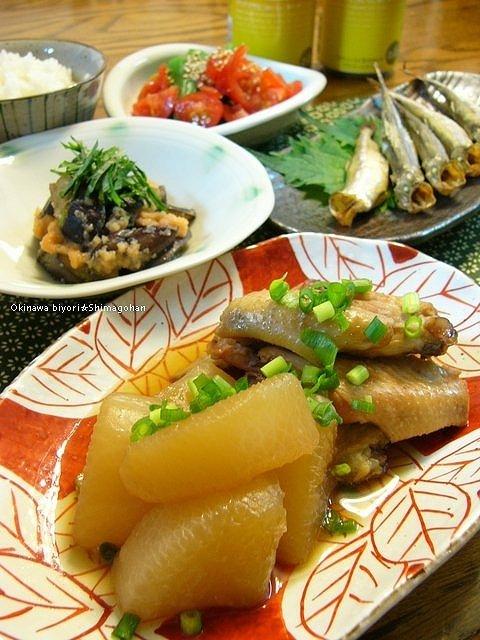 「野菜」 焼き茄子の辛子明太子和え♪_c0139375_1455433.jpg