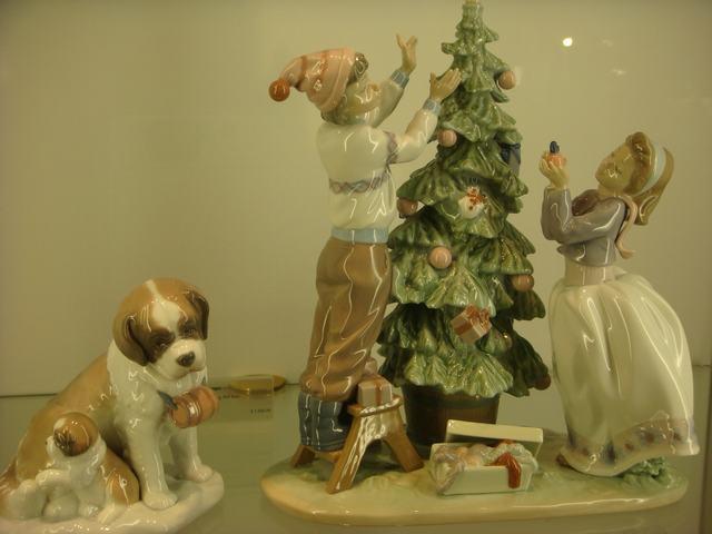スペインのLLADROはクリスマス一色の今日、_d0100880_1013321.jpg