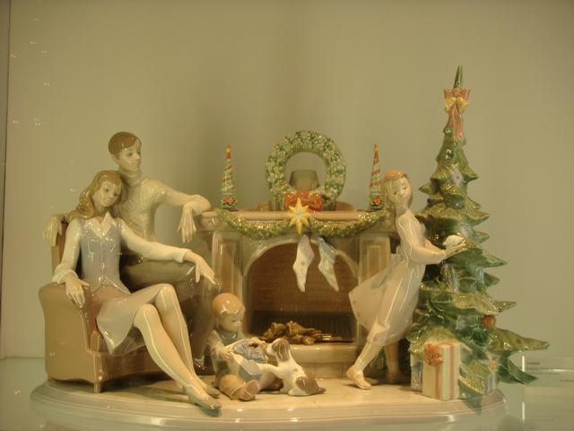 スペインのLLADROはクリスマス一色の今日、_d0100880_1014572.jpg