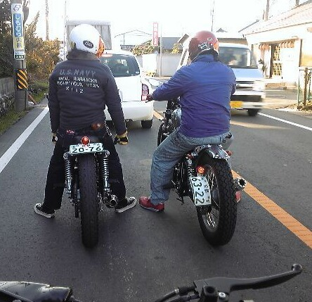 BBQとハンドルと!!口説き殺し文句万歳~!!_c0227496_549833.jpg
