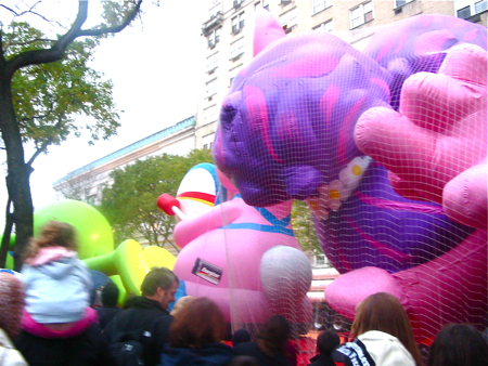Macy\'s Thanksgiving Day Paradeの巨大バルーン*_a0110515_11505952.jpg