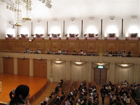 カザルスホール―ホール内観写真を大きめ5点_d0138618_9514038.jpg