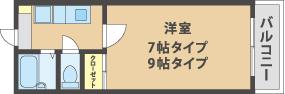 AZ平井 お部屋の紹介_a0145058_1962488.jpg