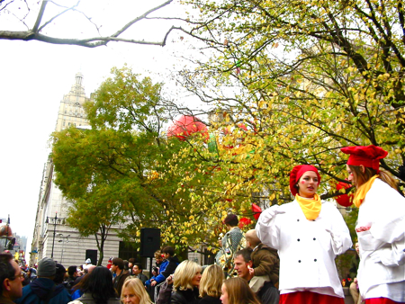 VIP席からMacy\'s Thanksgiving Day Parade☆_a0110515_6163368.jpg