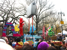 VIP席からMacy\'s Thanksgiving Day Parade☆_a0110515_6185439.jpg