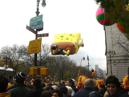 VIP席からMacy\'s Thanksgiving Day Parade☆_a0110515_620934.jpg