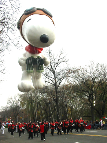 VIP席からMacy\'s Thanksgiving Day Parade☆_a0110515_6255087.jpg