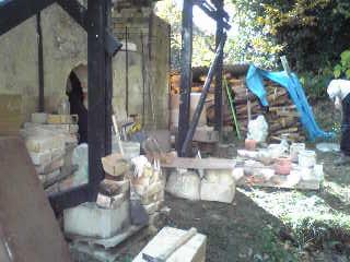 2009秋の薪窯 1_e0132834_18304975.jpg