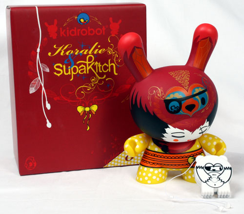 French series Golden Ticket 8-inch Dunny _e0118156_22563437.jpg