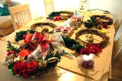 クリスマスリースレッスン_c0182100_424291.jpg