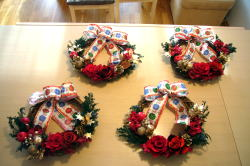 クリスマスリースレッスン_c0182100_4252863.jpg