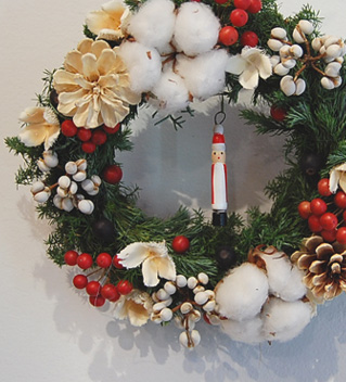 冬雑貨展 追加納品 ギモーブとクリスマスリース_a0043747_12191934.jpg