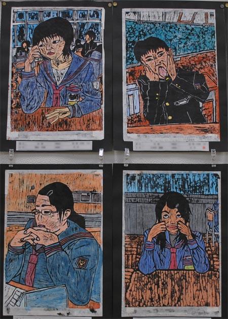 中学校美術展の気になる作品_c0225772_21412668.jpg