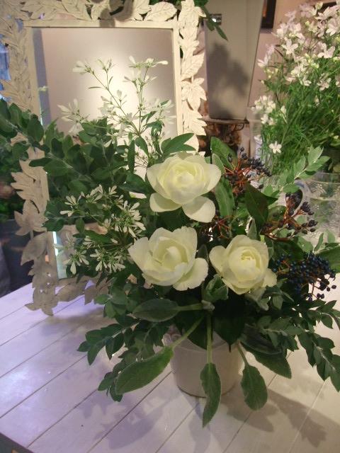オークリーフ花の教室(そまきさんと落合さんの作品)_f0049672_1975480.jpg