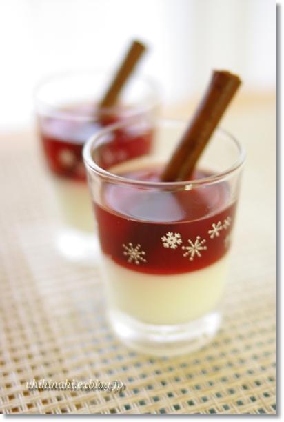 りんごワイン風味の杏仁豆腐_f0179404_2137118.jpg