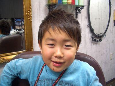 6歳男の子☆_f0158908_1832198.jpg