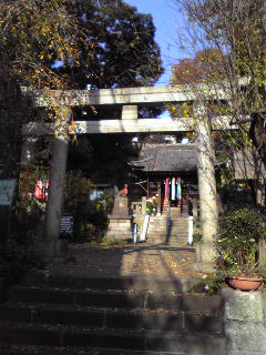 烏森稲荷神社_b0123314_4323031.jpg