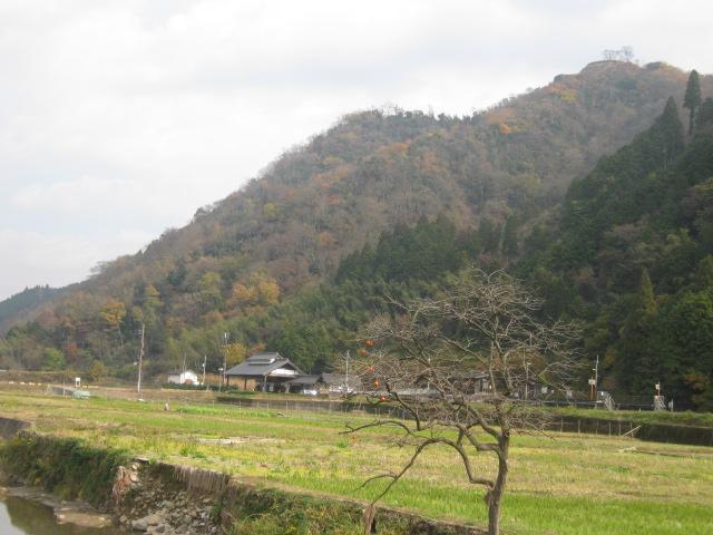 山城探訪:利神城祉(佐用町) 11月27日_c0218841_19103986.jpg