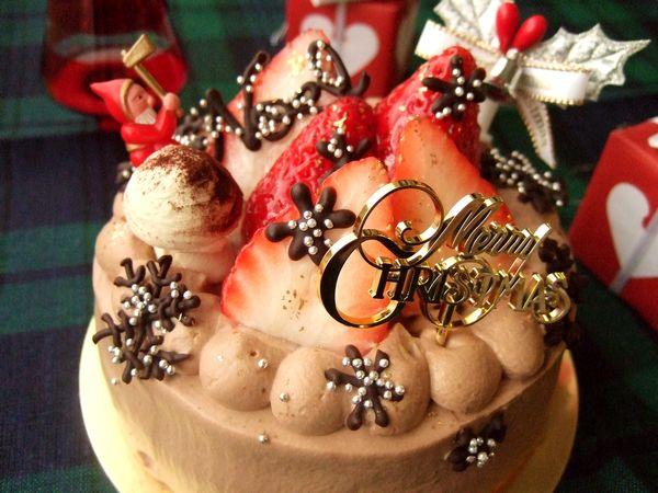 試作・クリスマスケーキ その2_e0160246_15353036.jpg