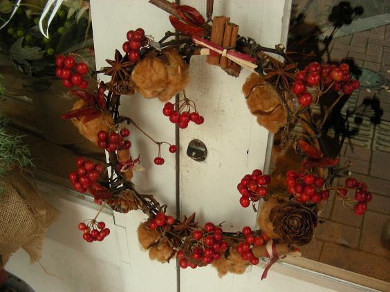 X\'mas Wreath♪_e0149863_14561722.jpg