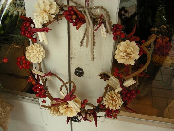 X\'mas Wreath♪_e0149863_14563714.jpg