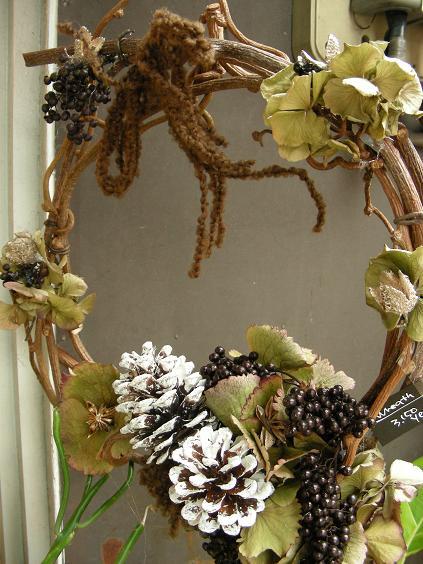 X\'mas Wreath♪_e0149863_14564732.jpg
