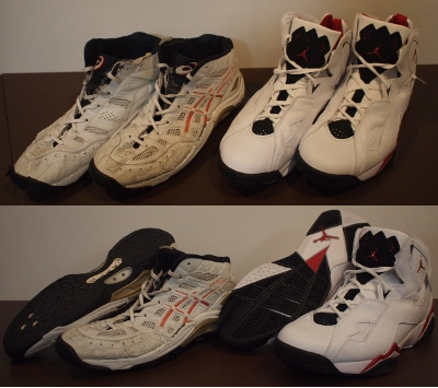 【靴】 Good-bye my basketball-shoes._b0000480_23505647.jpg