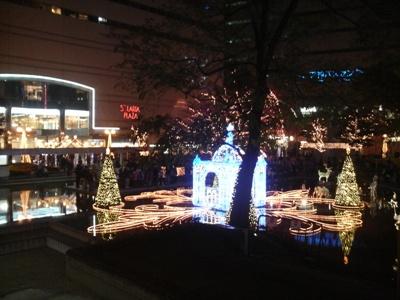 キラキラ☆クリスマスイルミネーション☆_e0188087_15264840.jpg